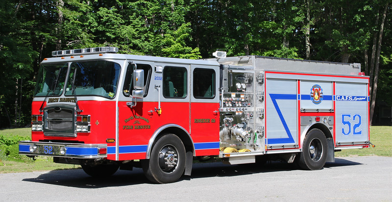 Engine 52   2012 E-One Typhoon.  1500 / 1000 / CAFS Equipped