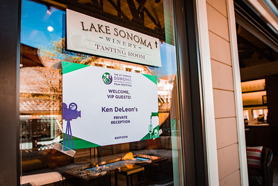 Ken DeLeon Reception (Lake Sonoma)