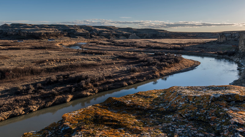 Writing on Stone Provincial Park - Milk River