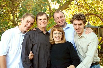 Pinkston family portraits