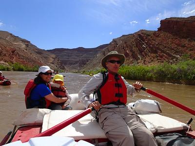 Adventuring on the San Juan River, 5/22-24/14