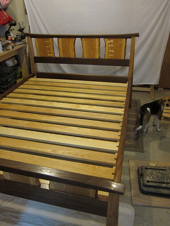 Bed  J Forrester Woodworks