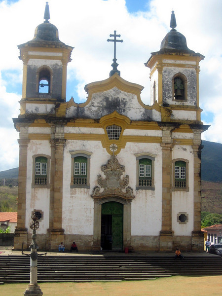 The church of Sao Francisco de Assis.