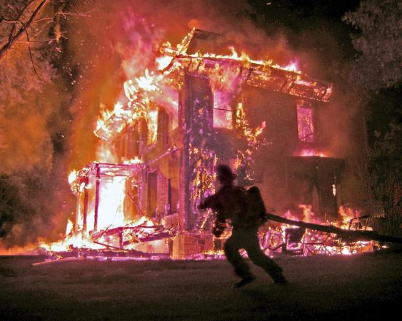 Borderland Farm Fire