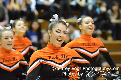 1-17-2015 Rockville HS Varsity Poms at Damascus HS Invitational, MCPS Championship, Photos by Jeffrey Vogt Photography with Kyle Hall