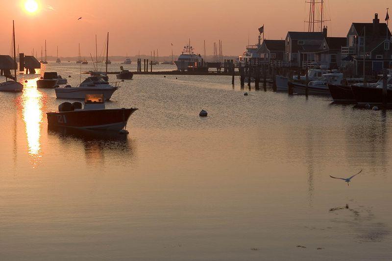 Nantucket Harbor  @ sun rise