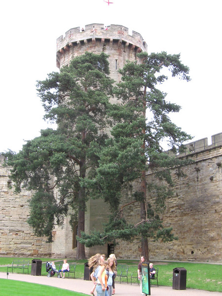 Warwick Castle- Guy's Tower, built in the fourteenth century.
