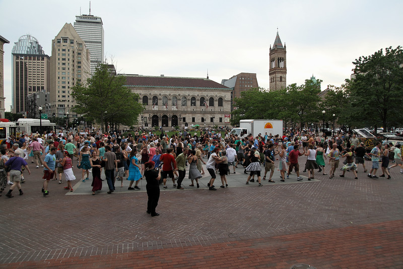 2012-07-03 Folk Dancing By The Fountain