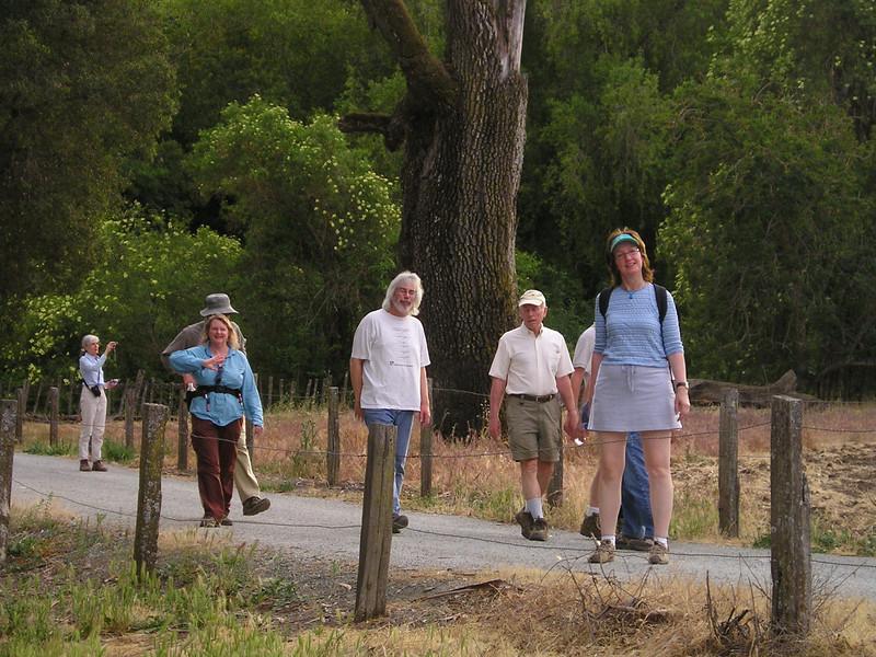 More rare front sides of hikers. Barbara, Brian, Max, Paula.