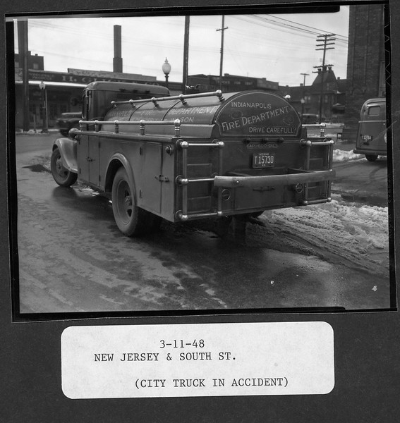 Fire Truck Accident 3-11-1948