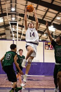 Basketball (9th Grade Boys) vs Harding Charter Prep, February 9