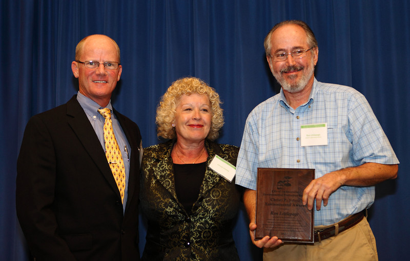 Ron Littlepage with the Times Union won the Christi P.Veleta Environmental Award for his environmental advocacy and educational outreach.