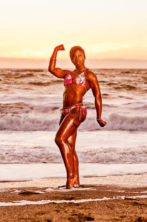 Vanessa at Baker Beach