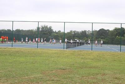 Craig Jones Tennis Camp at Darlington session 2 2009