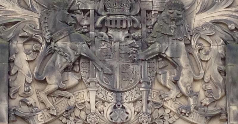 Scottish Parliament Royal Crest - Edinburgh