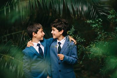 Sergio y Diego. Comunión.