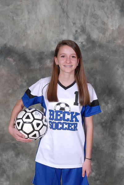 Beck Girl's Soccer 09-10