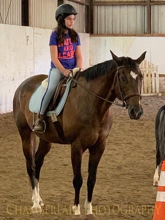 Brianna at Horse Camp - 2019