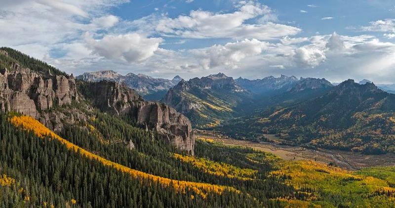Wetterhorn Peaks  - Uncompahgre