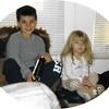 Ian & Meg Christmas 2001