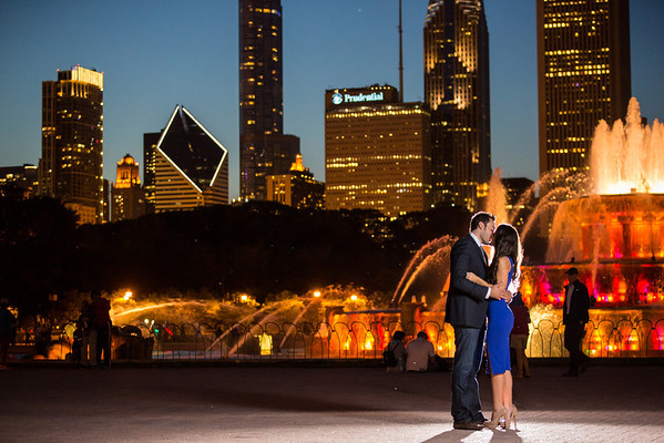 Chicago IL // Engagement // Lindon&Elizabeth