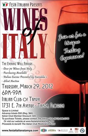 Wines of Italy 2012
