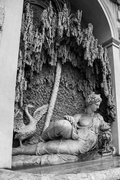 Goddess Juno - Quattro Fontane