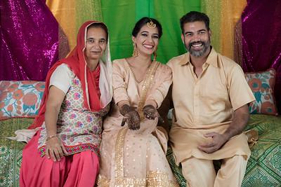 Preet's Mehndi Wedding