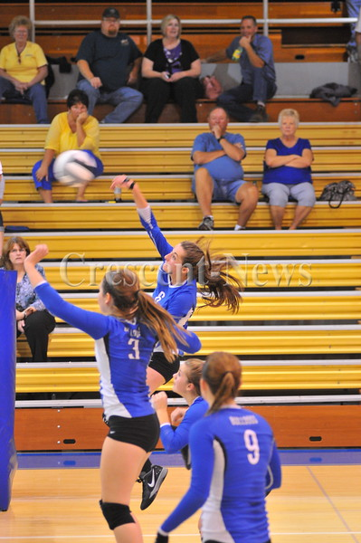 10-08-15 Sports St. Marys @ Defiance VB