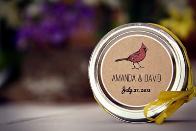 Amanda and David