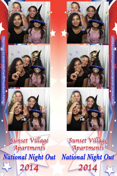 Sunset Village - National Night Out 2014