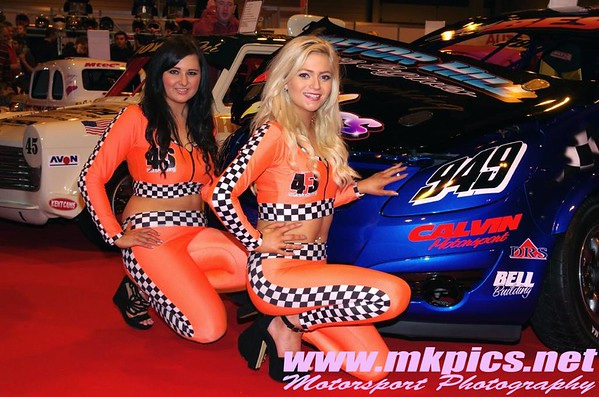 Oval Racing Show at the Autosport International