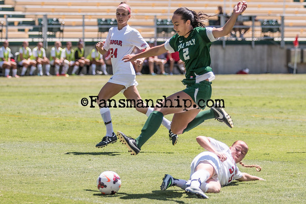 2014-08-24-Cal Poly Women's Soccer vs. Lamar