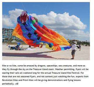Daily Sightings   2021-01-16 Treasure Island  Kite Festival.