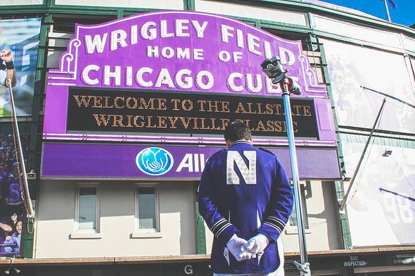 10-20-10 Northwestern vs. Illinois (Wrigley Field)