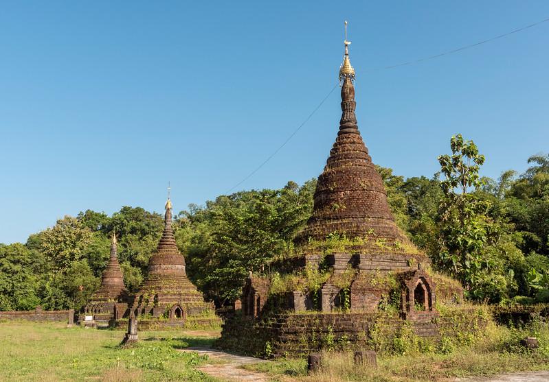 Sakyamanaung Pagoda, Mrauk U