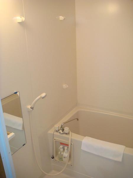 Shower and bath tub in Room - Yakushima, Japan