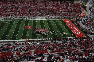 Ohio State Press Box Photos 2008