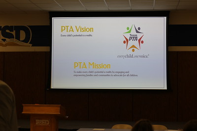Birdville Council of PTAs Sept. 2018