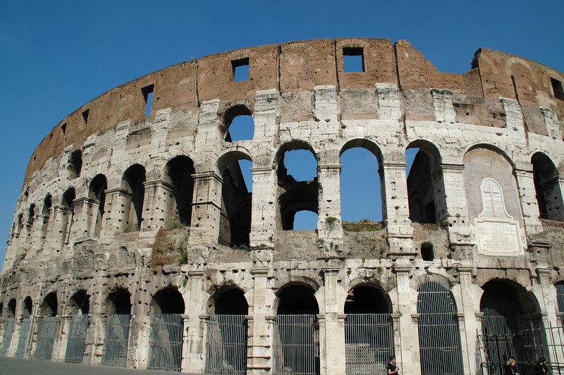 The Colosseum, of course!
