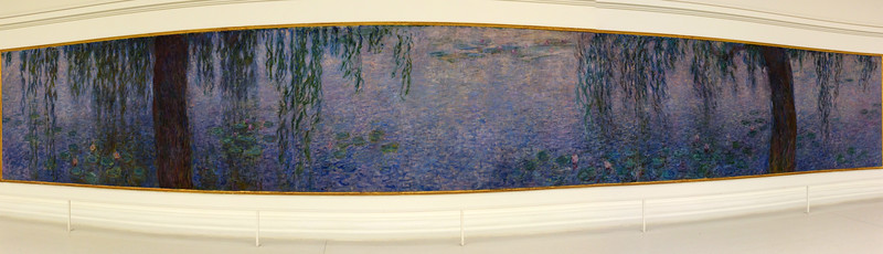 Claude Monet, The Water Lilies: Morning with Willows, 1915-1926