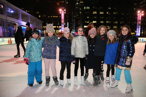 2020 Winter Ice Skating Party at Bryant Park - January 26, 2020