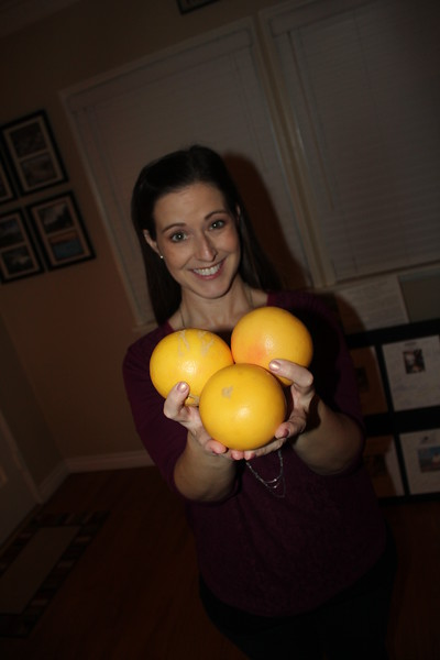 Grapefruits from Huell Howser's Yard IMG_6576.JPG