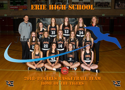 2018-19 EHS Girls Basketball Ind & Team Pics