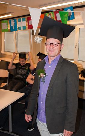 Diploma-uitreiking Havo-5   09-07-2009