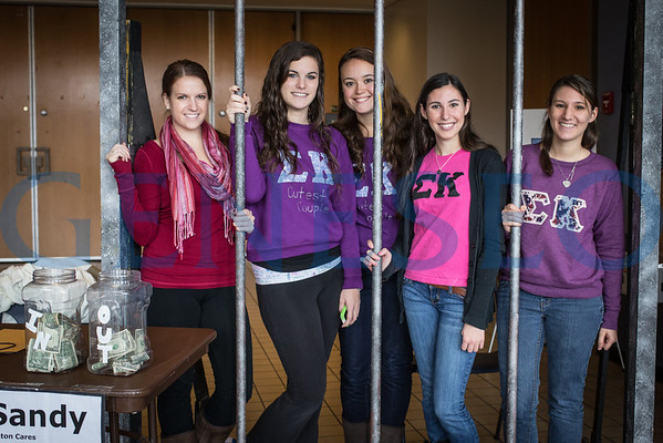 Jail Bail Group Photo - Sigma Kappa, ZBXi Sandy Fundraiser