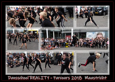 Dansschool REALITY @ Parcours 2018 Maastricht