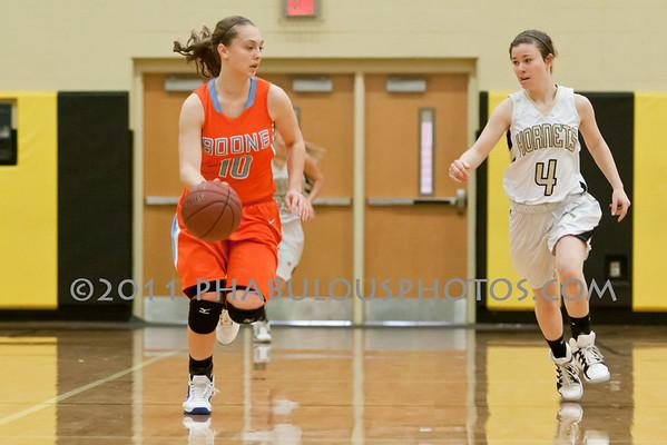 Girls Varsity Basketball # 10 - 2011