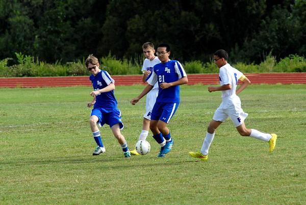 JR Prep Soccer vs Blue Ridge School
