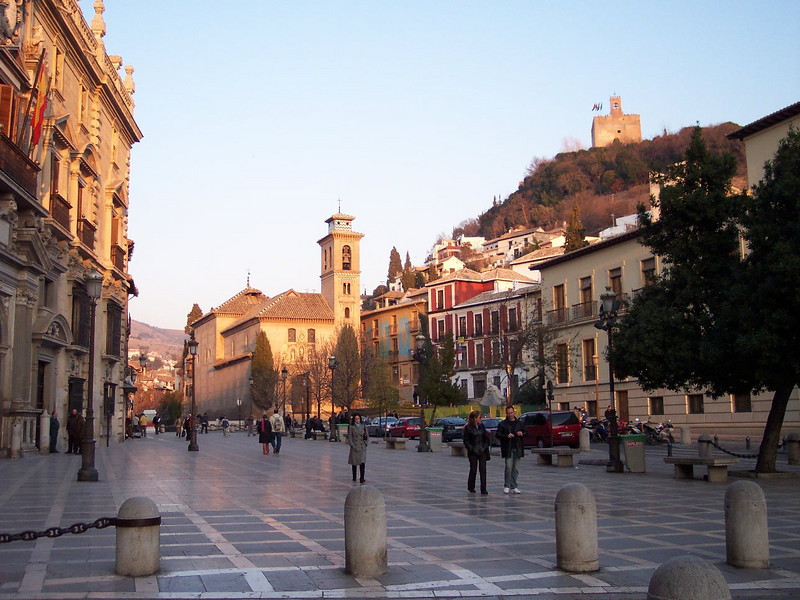 Granada. Plaza Nueva